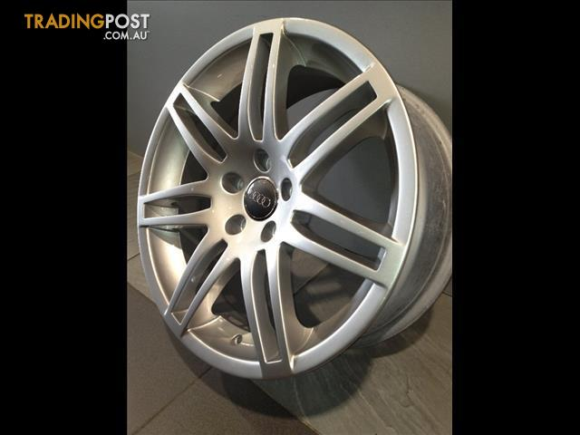 AUDI A S LINE INCH GENUINE ALLOY WHEELS TYRES For Sale In - Audi a4 wheels