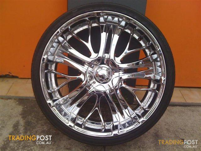 incubus paranormal 24 inch chrome alloy wheels for sale in. Black Bedroom Furniture Sets. Home Design Ideas