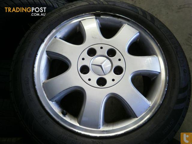 16 mercedes c240 genuine alloy wheels for sale in for Mercedes benz c240 wheels