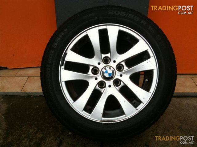 BMW E90 320i 16 INCH GENUINE ALLOY WHEELS for sale in ...