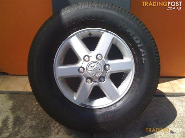Holden Rodeo Ra 16 Inch Genuine Alloy Wheels For Sale In