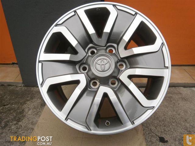 Alloy Mag Wheel Toyota Hilux Trd 17 Inch Genuine Alloys