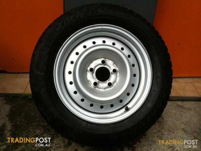 Ford Bf 1 Ute Tonne 16 Genuine Inch Steel Rims For Sale In