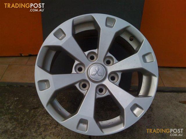 Automotive Rims And Wheels >> MITSUBISHI-MN-TRITON-GLX-R-17-INCH-GENUINE-ALLOY-WHEELS