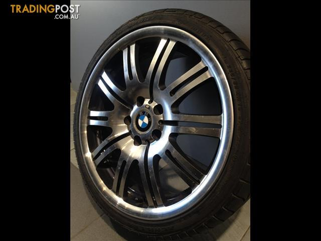 Bmw E46 M3 Replica 19 Alloy Wheels Tyres