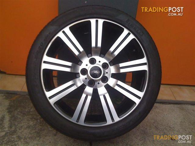 Land Rover Stormer 20 Inch Replica Alloy Wheels