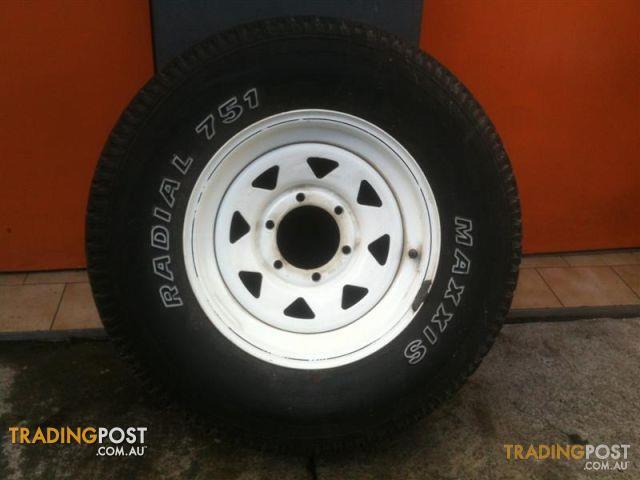 Sunraiser 15 Inch Steel Off Road Rims