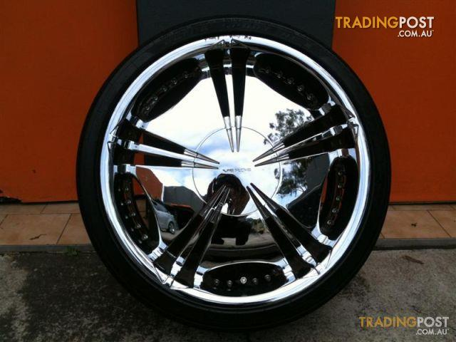 VERDE HELIX 20 INCH CHROME ALLOY WHEELS For Sale In