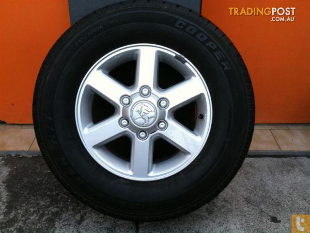 Holden Rodeo Ra Lt My06 16 Inch Genuine Alloy Wheels