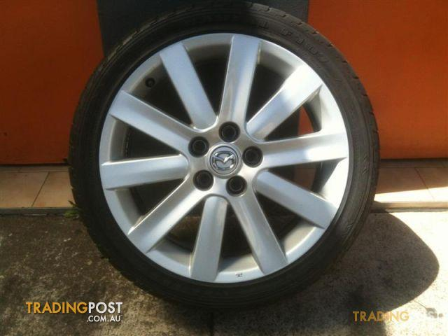 18 Inch Rims And Tires >> Mazda 3 Mps 18 Inch Genuine Alloy Wheels