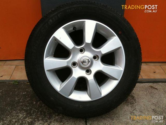 Nissan Tiida 15 Inch Genuine Alloy Wheels For Sale In