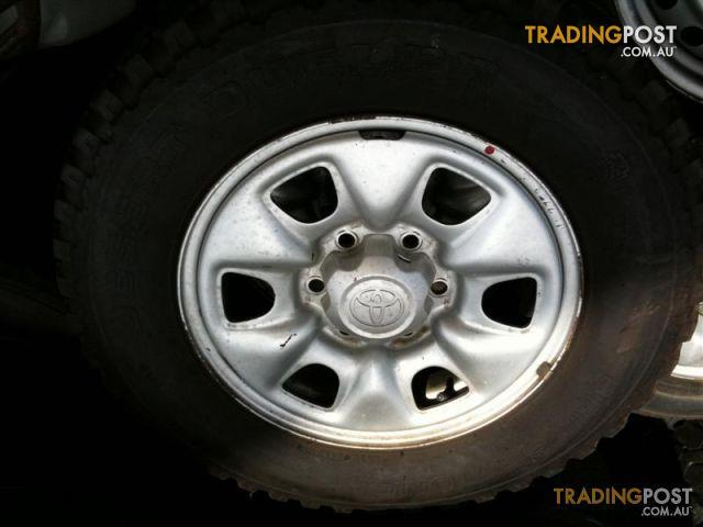 TOYOTA HILUX SR 16 INCH STEEL RIMS AND TYRES for sale in ...