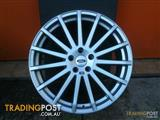 FORD FOCUS RS 19 INCH ALLOY WHEELS (NOT OEM)