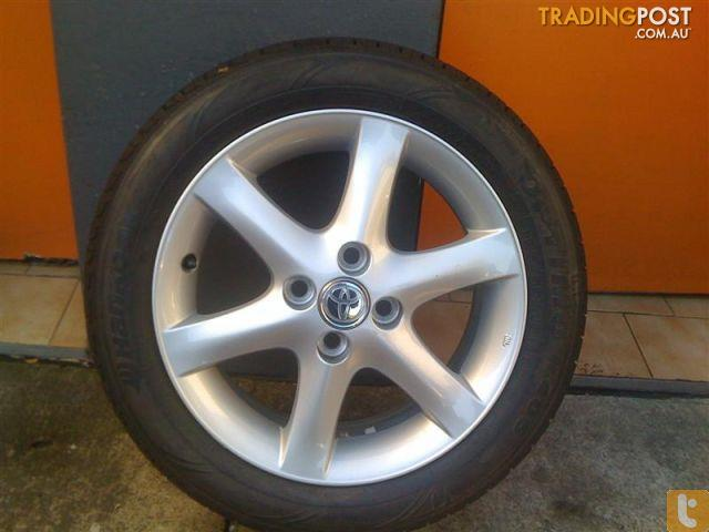 Tj Auto Sales >> TOYOTA COROLLA CONQUEST 15 INCH GENUINE ALLOY WHEELS for sale in Carramar NSW | TOYOTA COROLLA ...