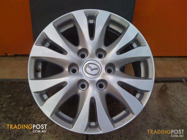 Mazda Bt50 17 Inch Genuine Alloy Wheels And Tyres For Sale