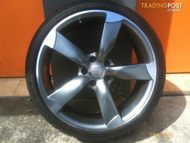 AUDI S REPLICA INCH GENUINE ALLOY WHEELS For Sale In Carramar - Audi rims