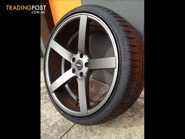 SSW STELLA II CONCAVE 20 INCH STG MATT GREY ALLOY WHEELS ...