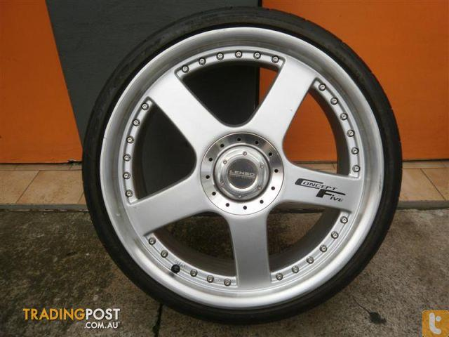 Lenso Concept 5 19 Inch Alloy Wheels For Sale In Carramar