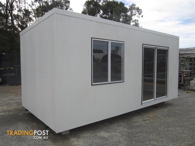 Portable buildings granny flats and home offices for sale for Portable shed office