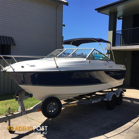 2008 BAYLINER 192 DISCOVERY CUDDY CABIN 4.3L MERCRUISER