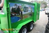 Custom Lawn Mowing Trailers