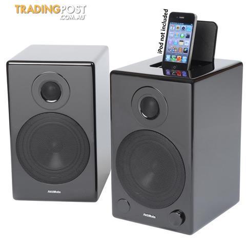 Aktimate-Mini-Audio-System-inc-iPod-dock-BT-adapter-ex-demo