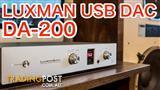 Luxman D-200 DAC & headphone amplifer at $800 discount off RRP!