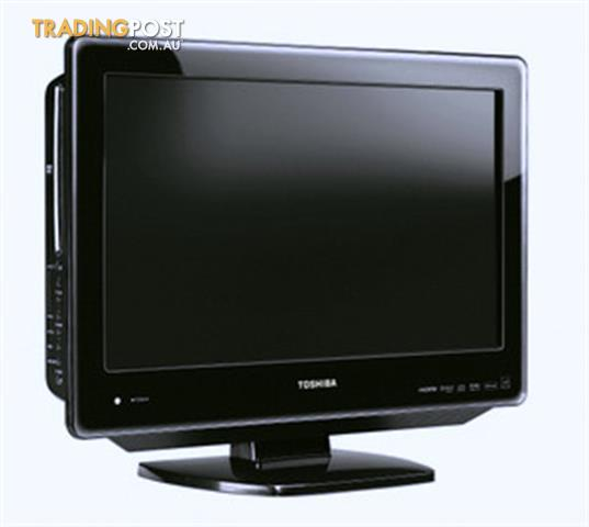 toshiba 26dv615y tv with in built dvd player and hd tuner. Black Bedroom Furniture Sets. Home Design Ideas