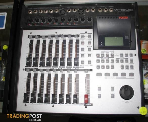 fostex vf160ex digital multitracker for sale in melton vic fostex rh tradingpost com au Fostex VF80EX Digital Multitracker Fostex VF160EX Hard Drive