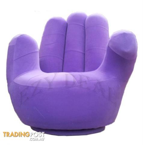 brand new adult size swivel hand chair finger sofa 1 seat couch