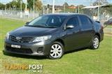 2011 Toyota Corolla Ascent ZRE152R MY11 Sedan