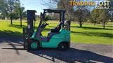 Mitsubishi FG20 Forklift LPG GAS Container Mast **Low Hours**