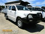 2011  TOYOTA HILUX SR DOUBLE CAB KUN26R MY12 CAB CHASSIS