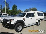 2010  FORD RANGER XL SUPER CAB PK CAB CHASSIS