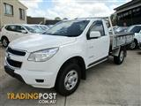 2013  HOLDEN COLORADO LX SINGLE CAB RG MY14 CAB CHASSIS