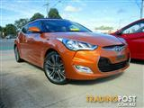 2015  HYUNDAI VELOSTER + Coupe D-CT FS4 Series II HATCHBACK