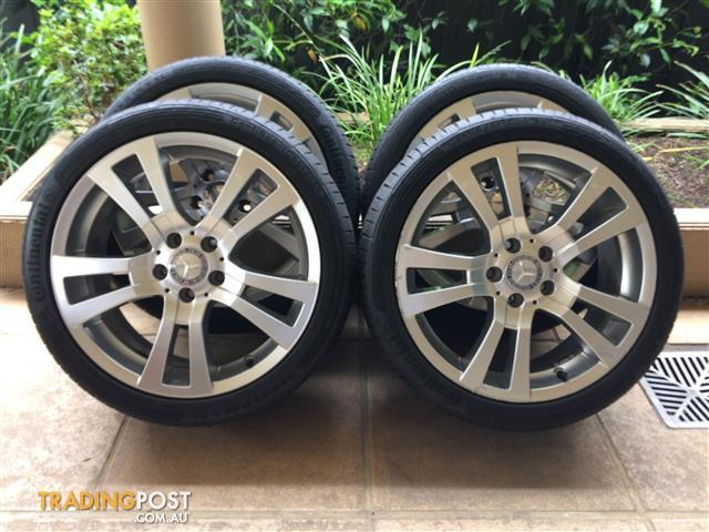 "18"" GENUINE FACTORY MERCEDES BENZ C-CLASS *AVANTGARDE* W204 WHEELS (2007-2014)"