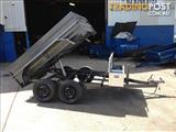 Brand new 8X5 hydraulic tandem tipper trailer