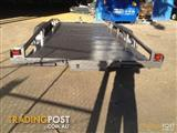 16x6.6 heavy duty car trailer