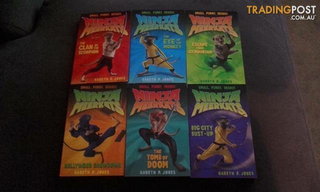 Ninja Meerkats volumes 1-6