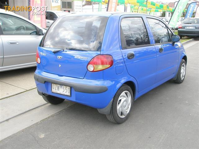 2001 daewoo matiz 5d hatchback for sale in bendigo vic 2001 daewoo matiz 5d hatchback. Black Bedroom Furniture Sets. Home Design Ideas