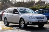 2012  Subaru Outback 2.0D B5A Wagon