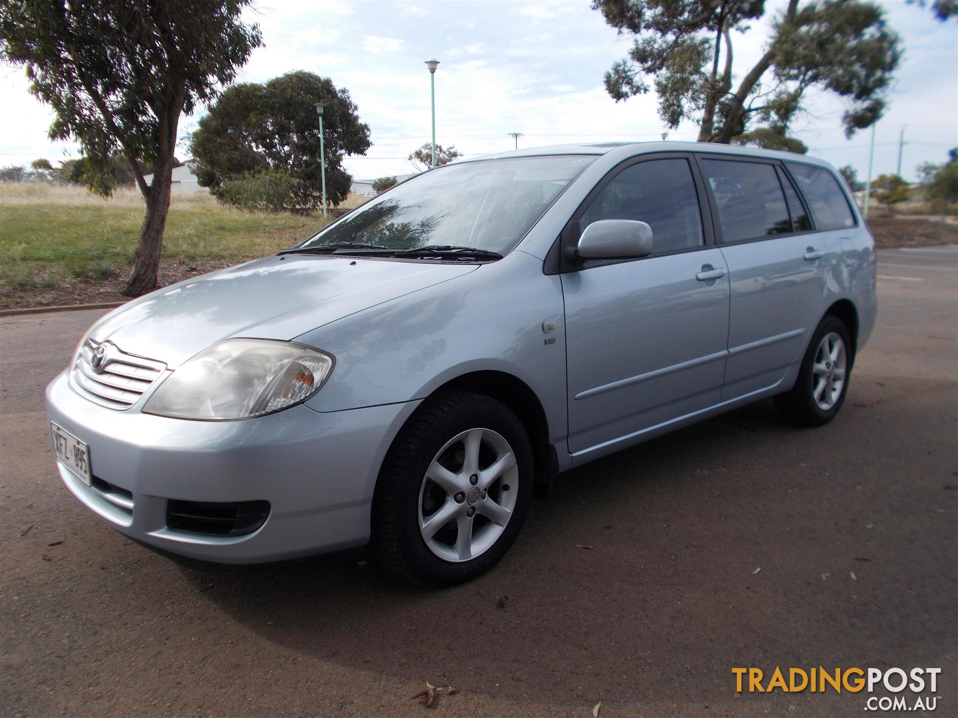 2005 Toyota Corolla Conquest Zze122r 4d Wagon For Sale In