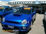 2000 Subaru Impreza WRX AWD S MY01 Sedan