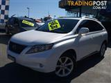 2010  LEXUS RX350 SPORTS LUXURY GGL15R 4D WAGON