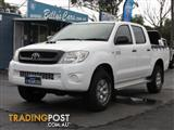 2010  TOYOTA HILUX SR (4X4) KUN26R MY11 UPGRADE DUAL CAB P/UP
