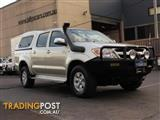 2008  TOYOTA HILUX SR5 (4X4) GGN25R 07 UPGRADE DUAL CAB P/UP