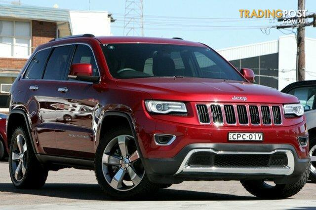 2013 jeep grand cherokee limited 4x4 wk my14 wagon for sale in sydney nsw 2013 jeep grand. Black Bedroom Furniture Sets. Home Design Ideas