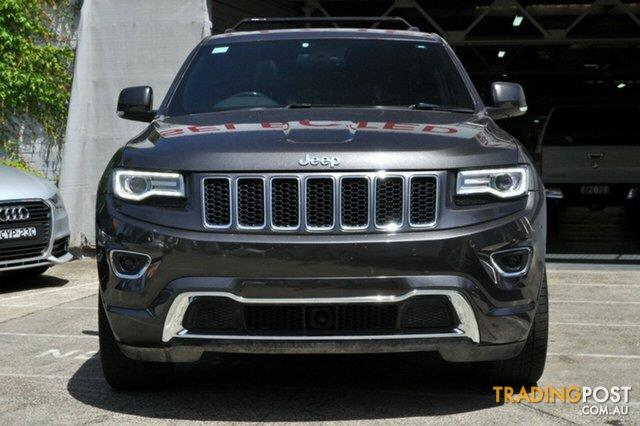 2013 jeep grand cherokee overland 4x4 wk my14 wagon for sale in sydney nsw 2013 jeep grand. Black Bedroom Furniture Sets. Home Design Ideas