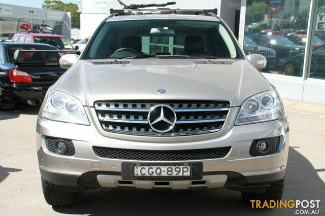 2005 mercedes benz ml 350 luxury 4x4 w164 wagon for sale in sydney nsw 2005 mercedes benz ml. Black Bedroom Furniture Sets. Home Design Ideas